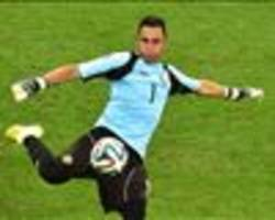 Real Madrid move round the corner - Navas