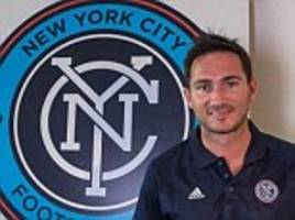 Frank Lampard can carry on playing for England, says New York City director of football Claudio Reyna