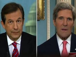 Fox News' Chris Wallace: White House Sent Angry Emails Over Airing Kerry's Hot Mic Moment
