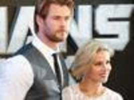Hemsworth and wife hit the red carpet