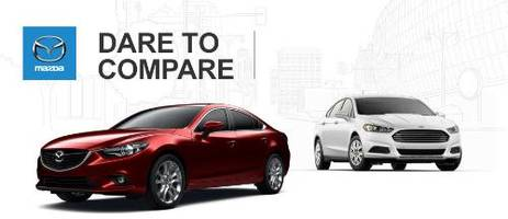 2015 mazda6 shows up 2015 ford fusion in recent comparison